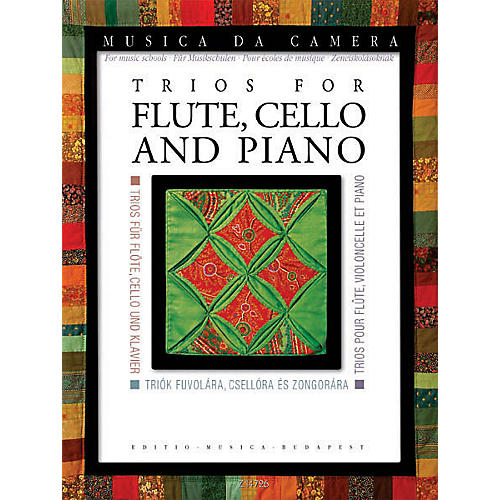 Editio Musica Budapest Trios for Flute, Cello, and Piano (Musica da Camera for Music Schools) EMB Series Composed by Various thumbnail