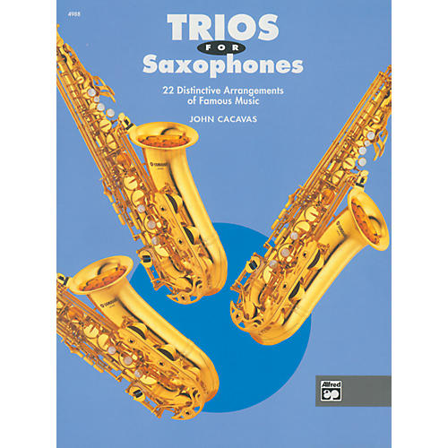 Alfred Trios for Saxophones Book thumbnail