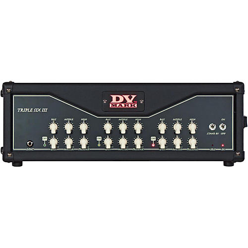 DV Mark Triple 6 III 120W All-Tube Guitar Head thumbnail