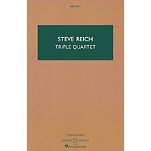 Boosey and Hawkes Triple Quartet Boosey & Hawkes Scores/Books Series Composed by Steve Reich