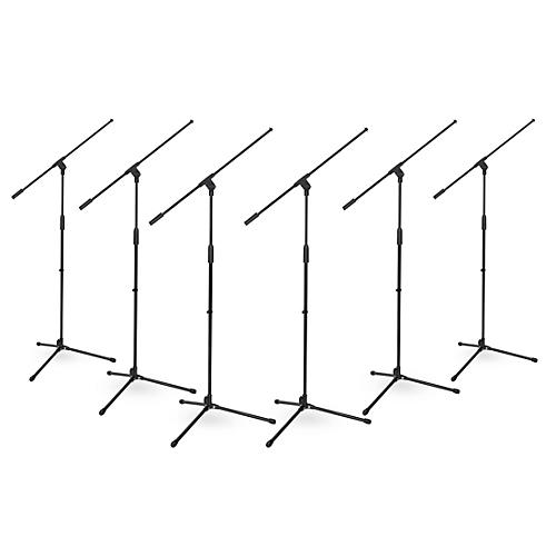Musician's Gear Tripod Boom Microphone Stand - 6 Pack thumbnail