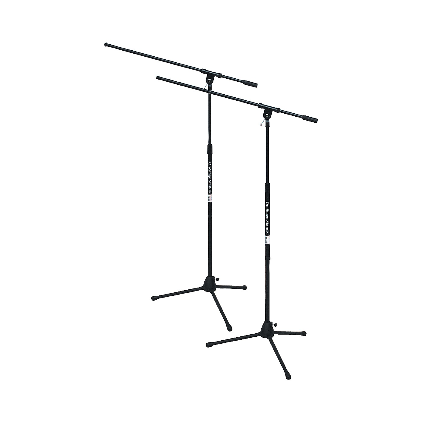On-Stage Tripod Mic Stand with Boom 2-Pack thumbnail