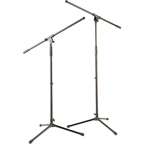 Musician's Gear Tripod Mic Stand with Fixed Boom (2-Pack) thumbnail