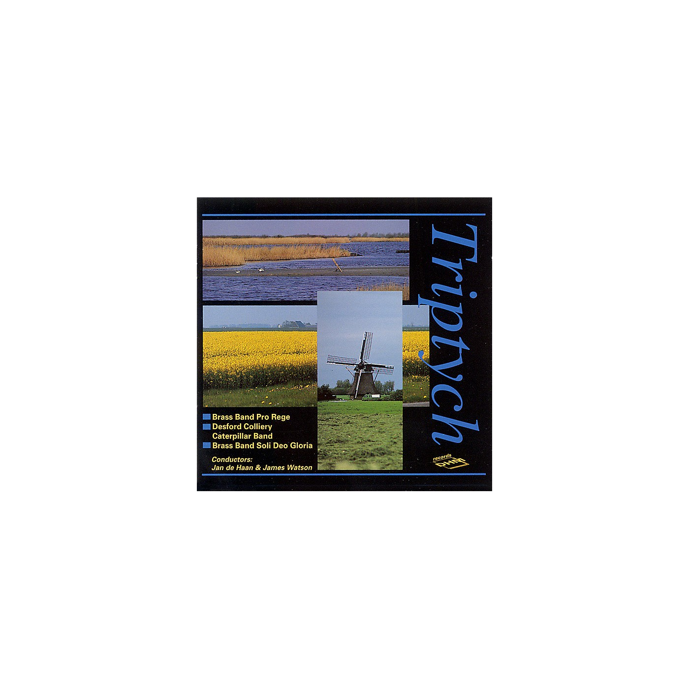 De Haske Music Triptych CD (De Haske Brass Band Sampler CD) De Haske Brass Band CD Series CD  by Various thumbnail