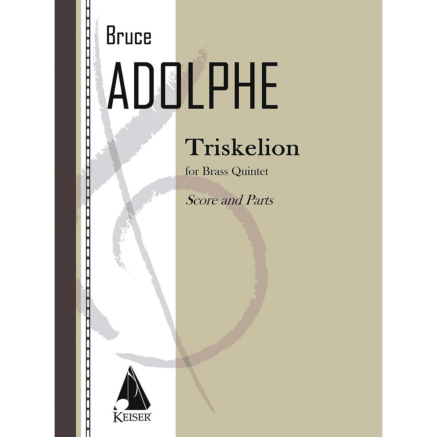 Lauren Keiser Music Publishing Triskelion LKM Music Series by Bruce Adolphe thumbnail