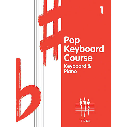 Hal Leonard Tritone Pop Keyboard Course - Book 1 (Book 1 - Revised) Piano Method Series Written by Various Authors thumbnail