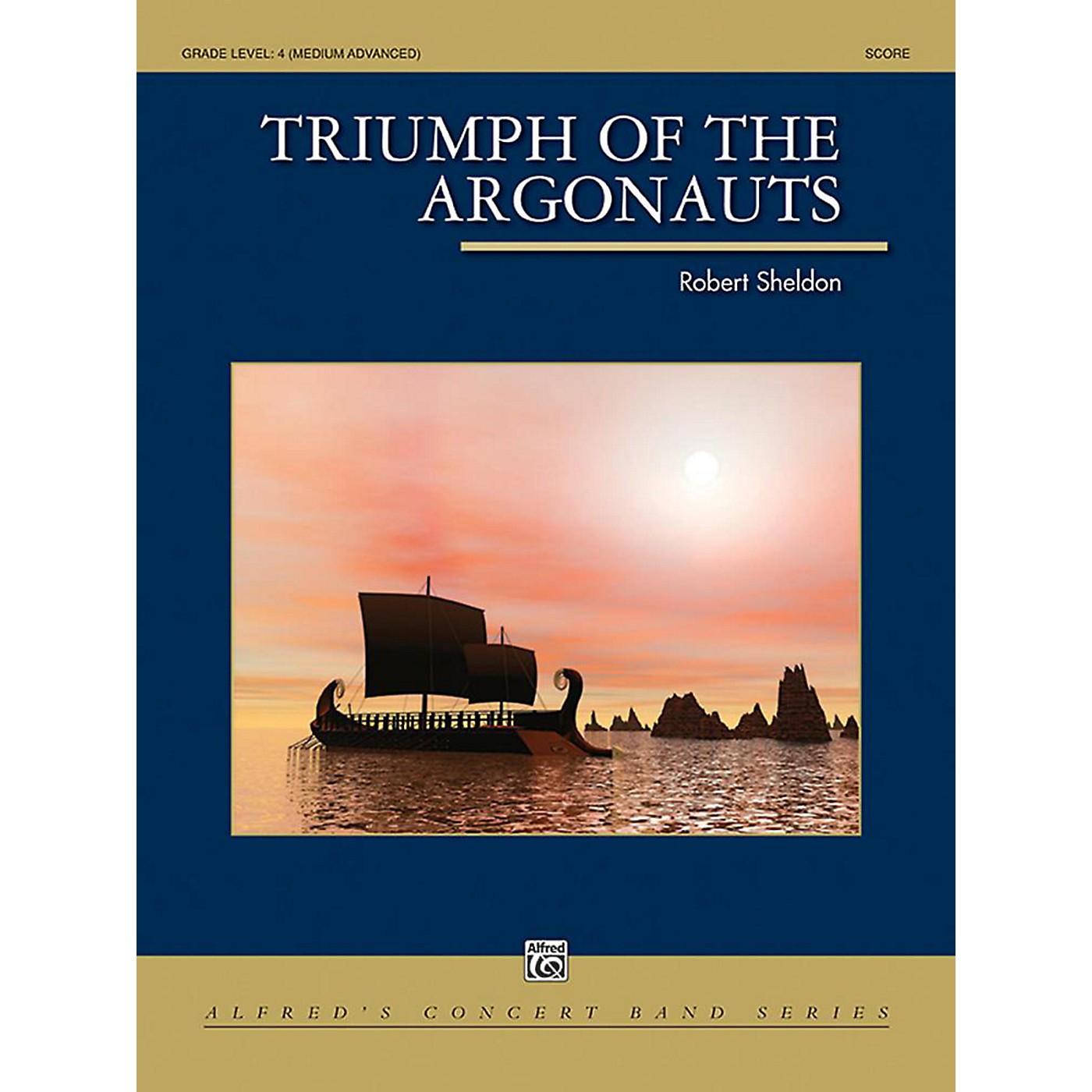 Alfred Triumph of the Argonauts Concert Band Grade 4 Set thumbnail