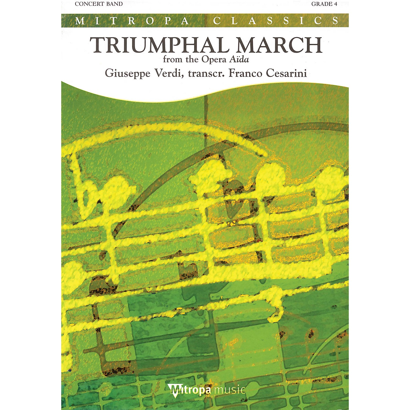 Mitropa Music Triumphal March Full Score Concert Band Level 4 Arranged by Franco Cesarini thumbnail