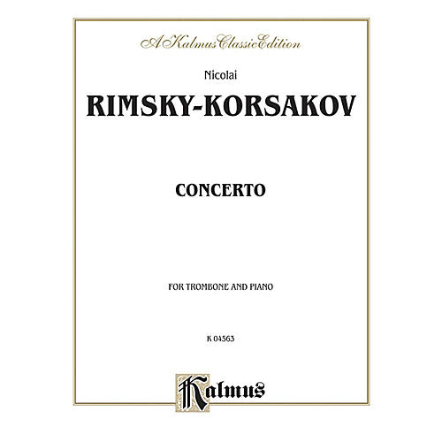 Alfred Trombone Concerto for Trombone By Nicolai Rimsky-Korsakov Book thumbnail