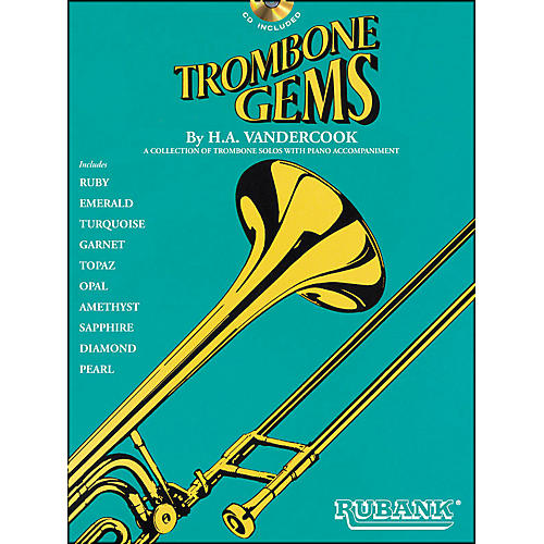 Hal Leonard Trombone Gems (Book/CD) thumbnail