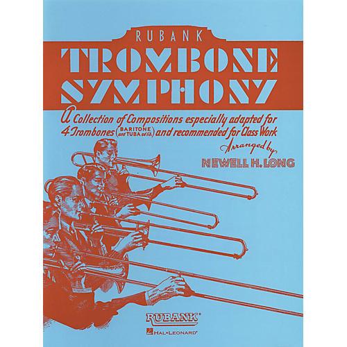 Rubank Publications Trombone Symphony (for Trombone Quartet/Ensemble) Ensemble Collection Series thumbnail