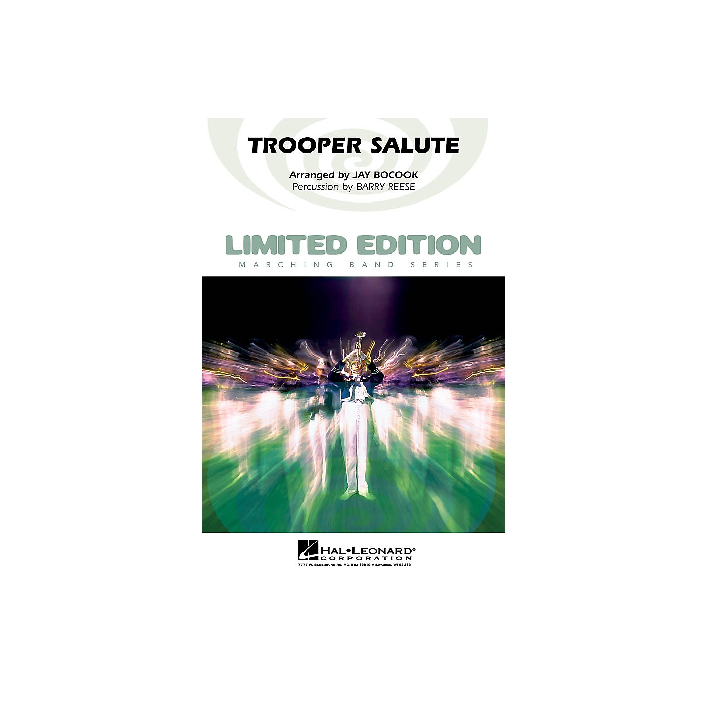 Hal Leonard Trooper Salute Marching Band Level 4 Arranged by Jay Bocook thumbnail