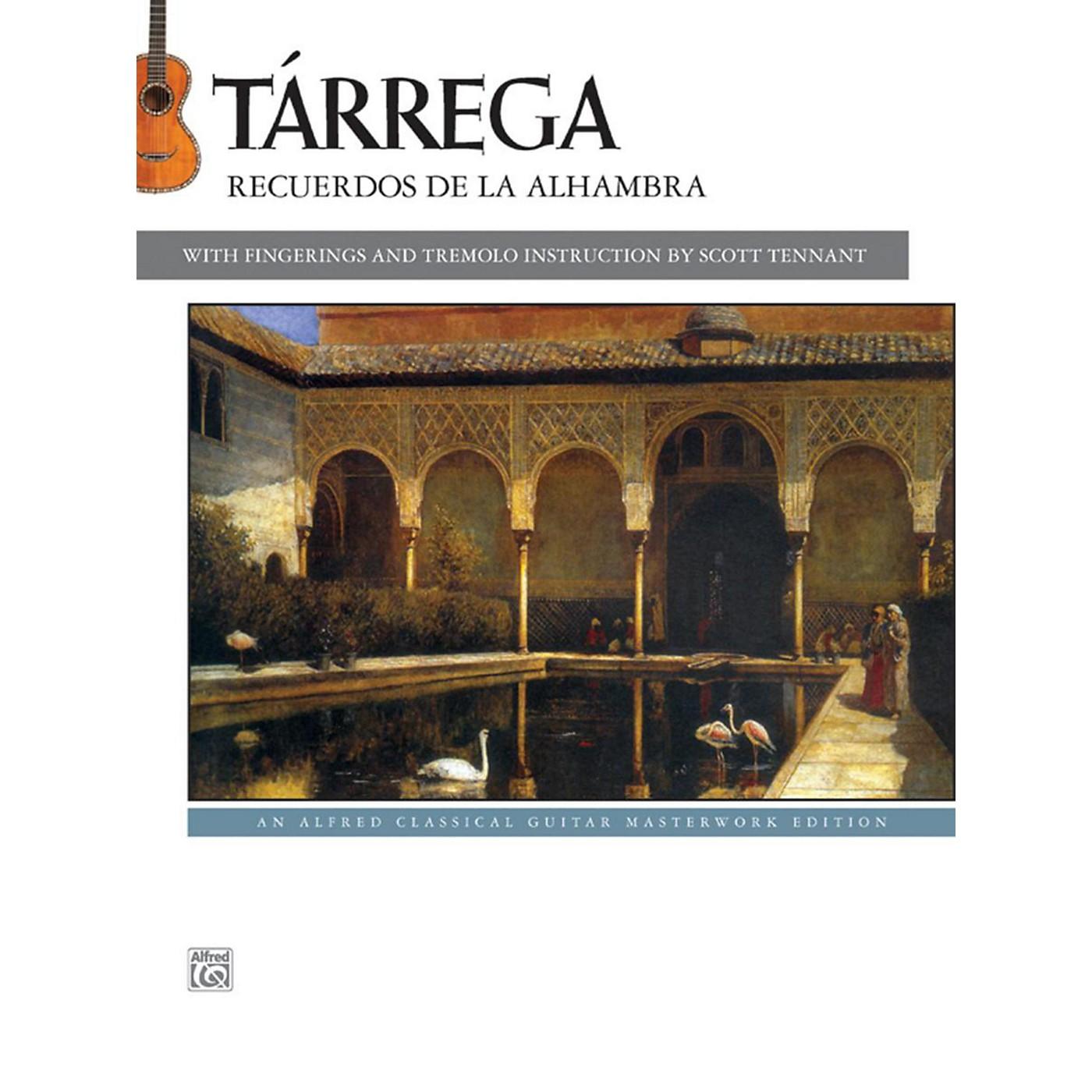 Alfred T¡rrega - Recuerdos de la Alhambra Guitar Book thumbnail