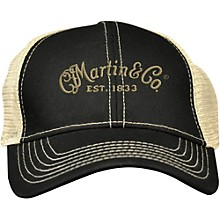 Martin Trucker Hat with Tan Mesh