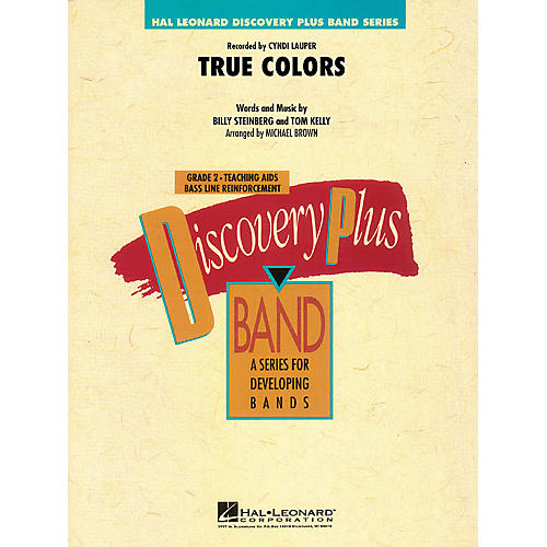 Hal Leonard True Colors - Discovery Plus Band Level 2 arranged by Michael Brown thumbnail