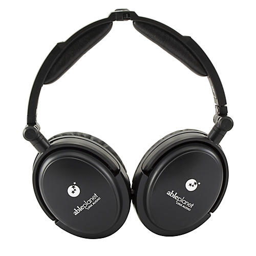Able Planet True Fidelity NC180B Around the Ear Foldable Noise Canceling Headphones thumbnail