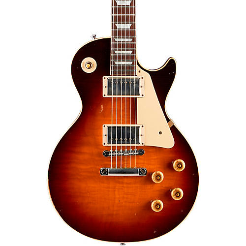 Gibson Custom True Historic 1958 Les Paul Reissue In-House Aged Electric Guitar thumbnail