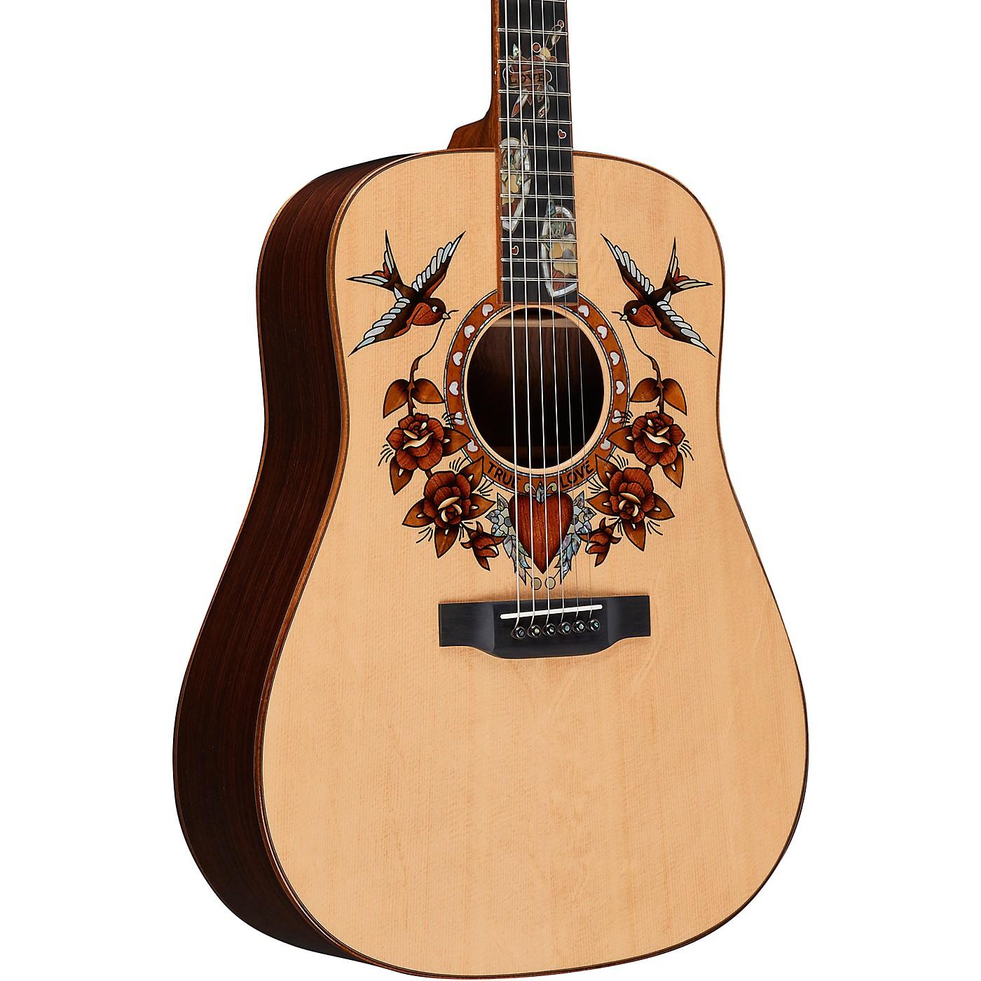 Martin True Love Sailor Jerry Dreadnought Acoustic Guitar thumbnail