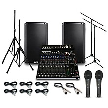 Alto Truesonic TS212 with Peavy PV14AT Mixer PA System