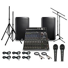 Alto Truesonic TS215 with Peavy PV14BT Mixer PA System