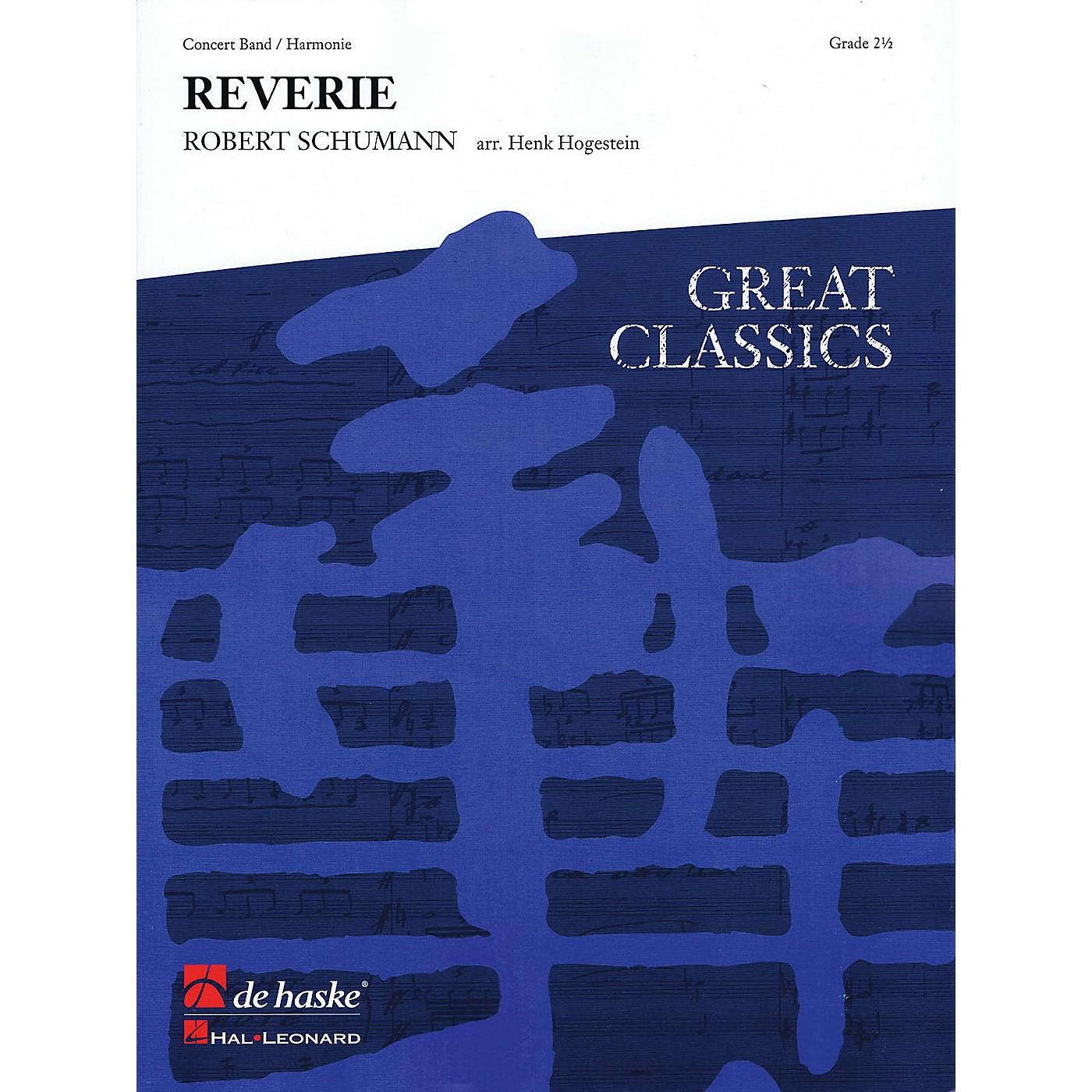 De Haske Music Träumerei (Reverie) (Score and Parts) Concert Band Level 3 Arranged by Henk Hogestein thumbnail