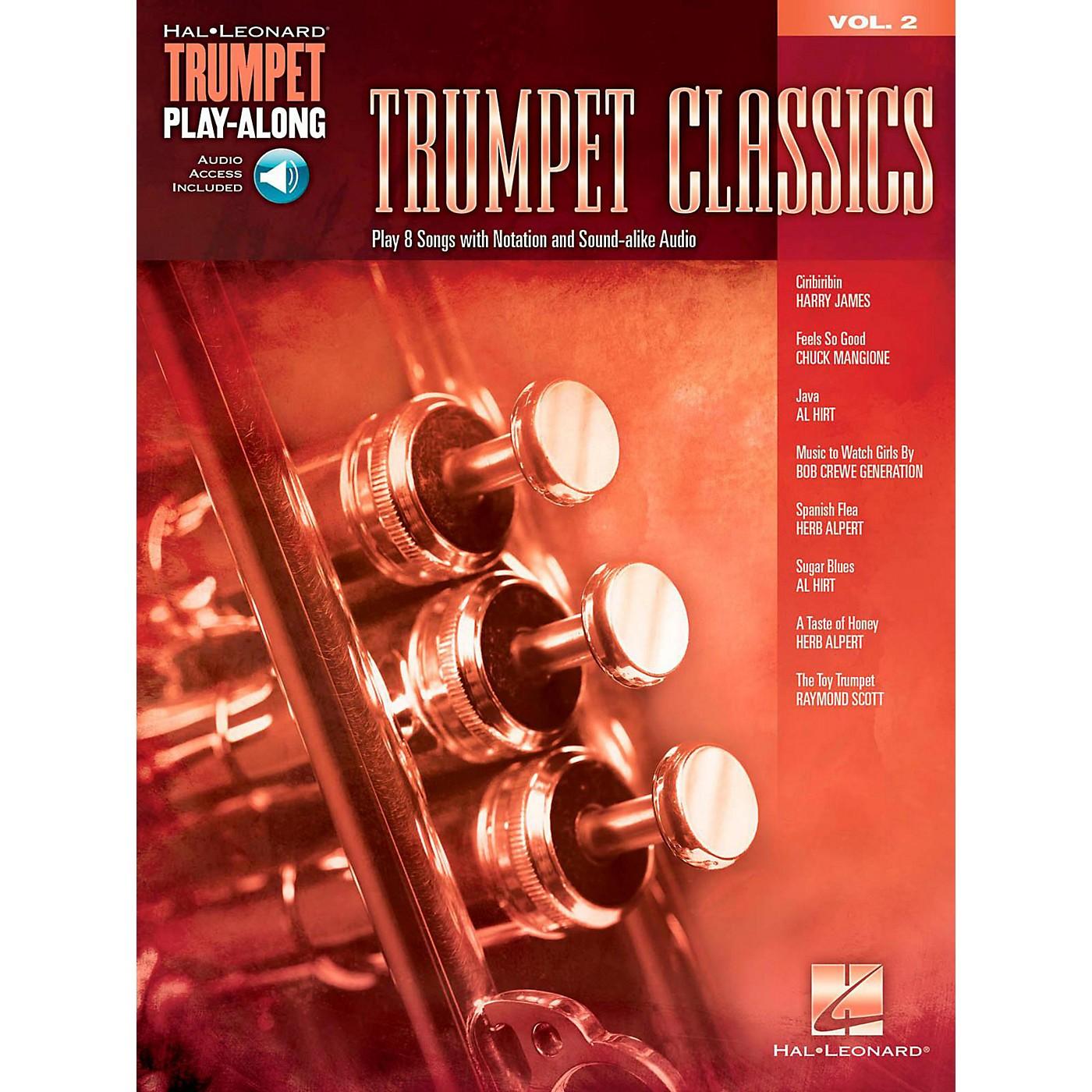 Hal Leonard Trumpet Classics - Trumpet Play-Along Vol. 2 (Book/Audio) thumbnail