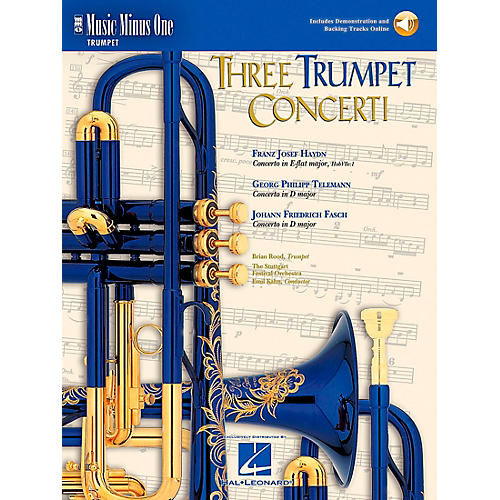 Hal Leonard Trumpet Concerti, Haydn, Telemann, Fasch thumbnail