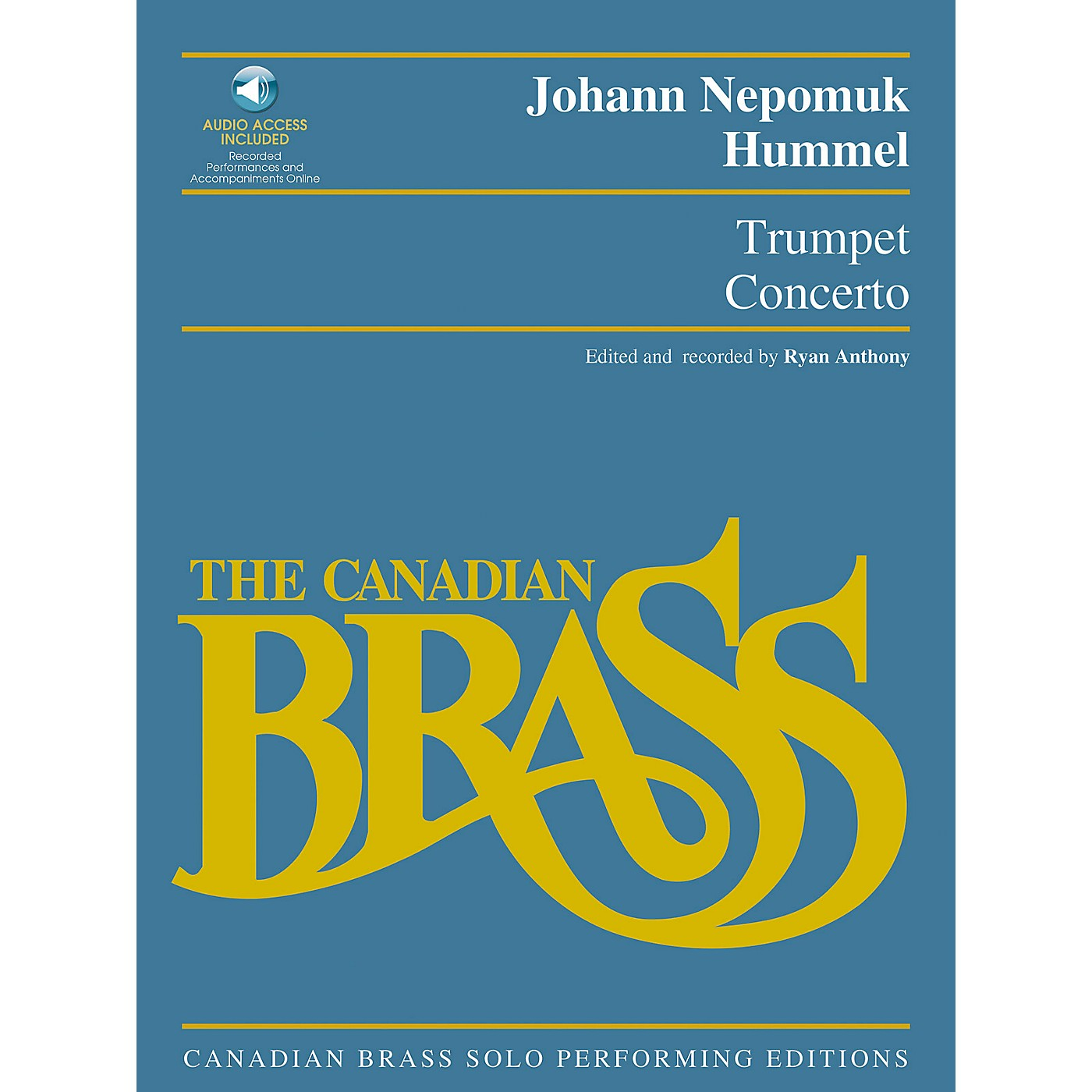 Hal Leonard Trumpet Concerto Brass Solo Series Softcover with CD Performed by The Canadian Brass thumbnail
