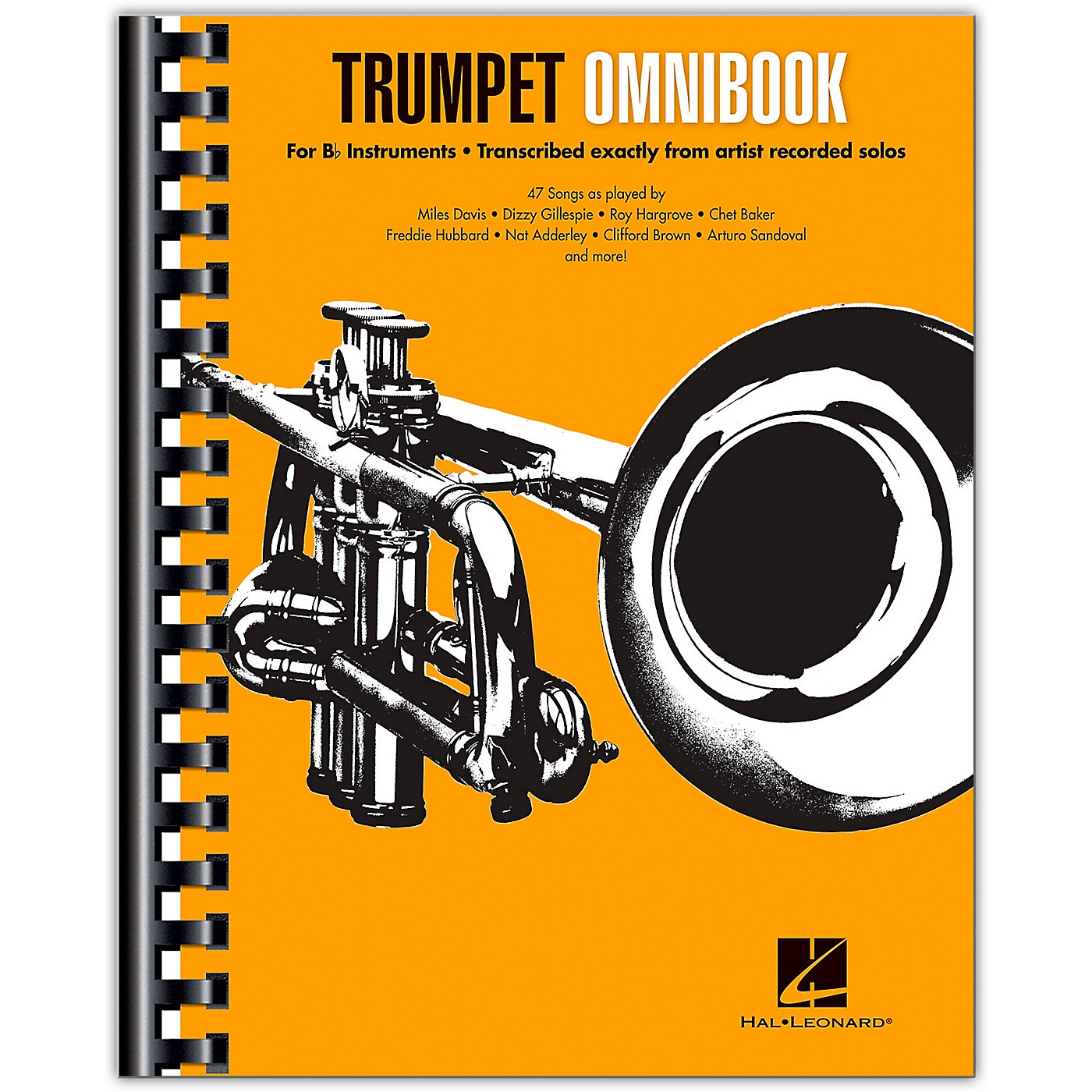 Hal Leonard Trumpet Omnibook For B-Flat Instruments Transcribed Exactly from Artist Recorded Solos thumbnail