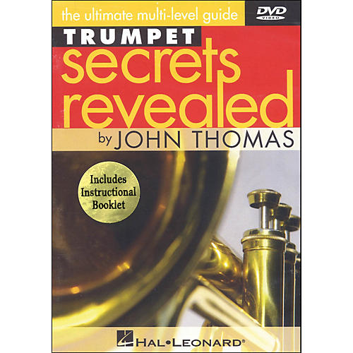 Hal Leonard Trumpet Secrets Revealed DVD Featuring John Thomas thumbnail