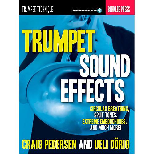 Berklee Press Trumpet Sound Effects - Berklee Press Book/Audio Online thumbnail