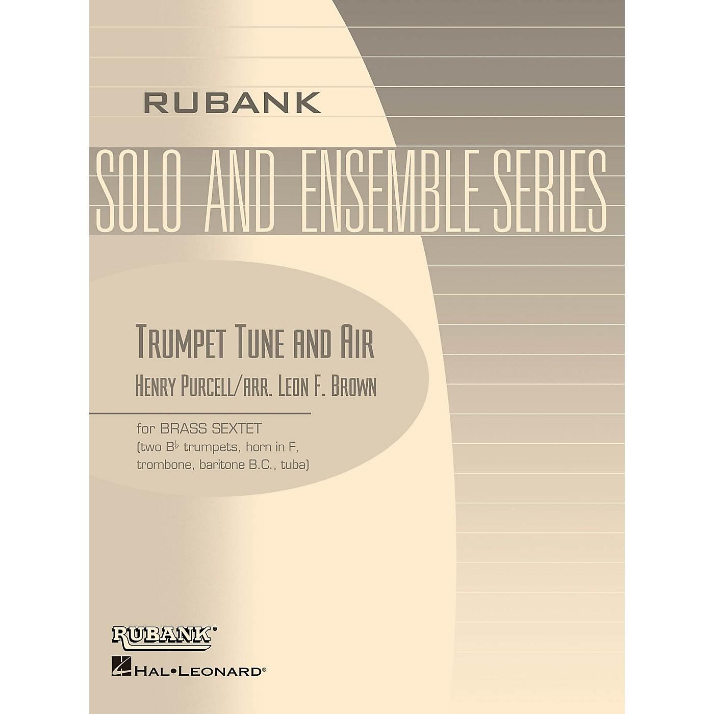 Rubank Publications Trumpet Tune and Air (Brass Sextet - Grade 2) Rubank Solo/Ensemble Sheet Series thumbnail