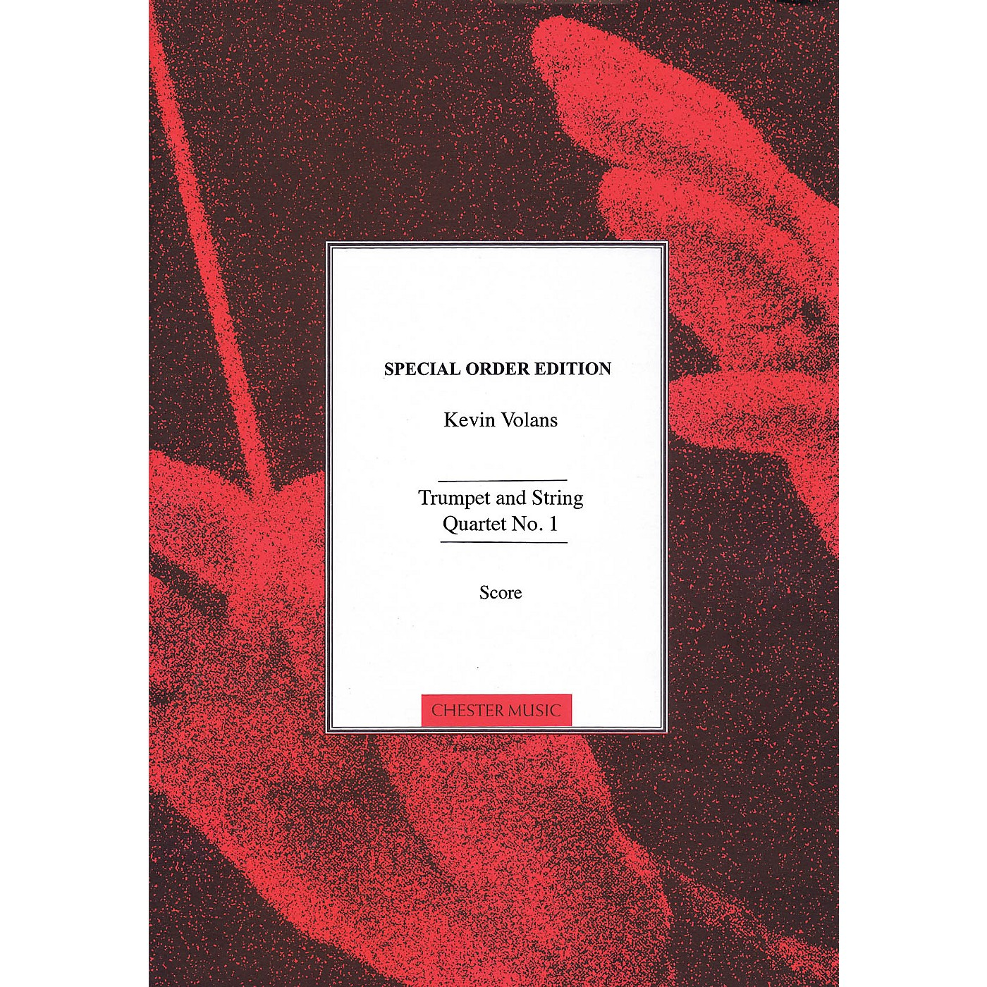 Chester Music Trumpet and String Quartet No. 1 Music Sales America Series Softcover Composed by Kevin Volans thumbnail