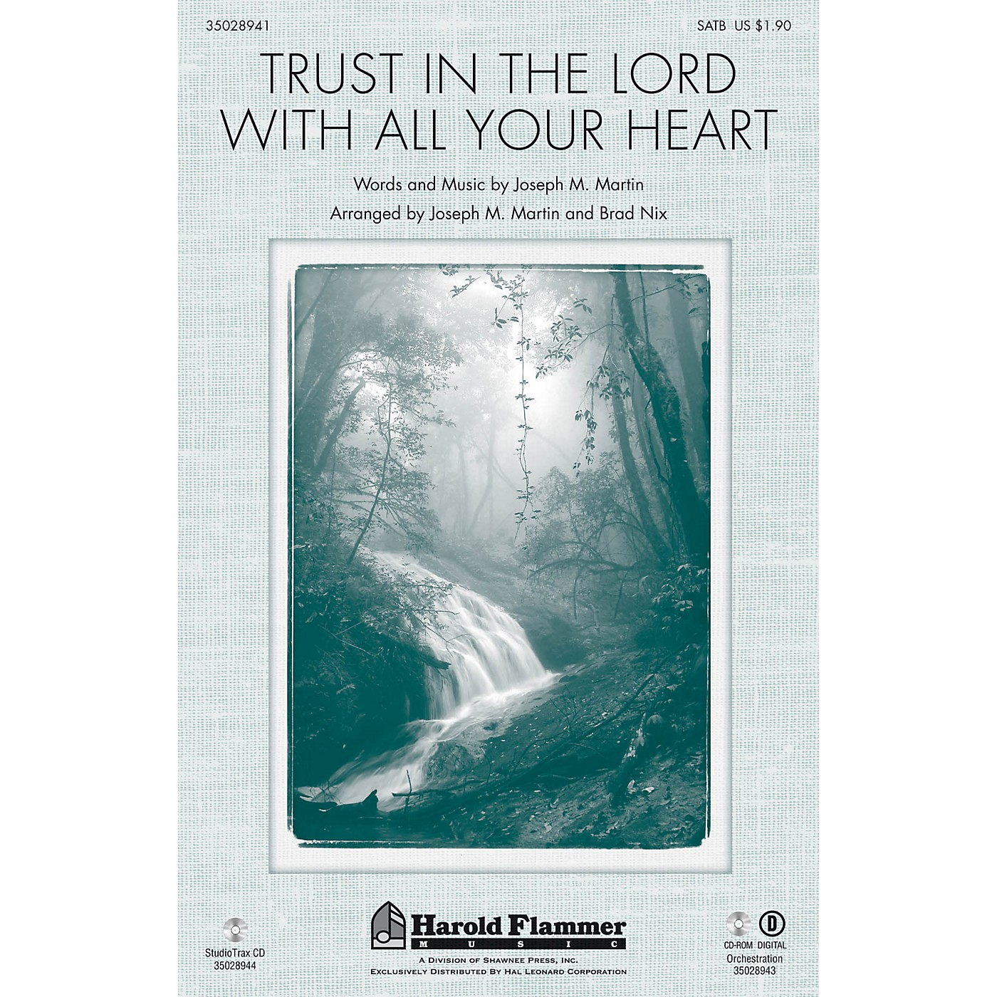 Shawnee Press Trust in the Lord with All Your Heart Studiotrax CD Arranged by Joseph M. Martin thumbnail