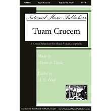 National Music Publishers Tuam Crucem SATB a cappella composed by Alonso de Tejeda