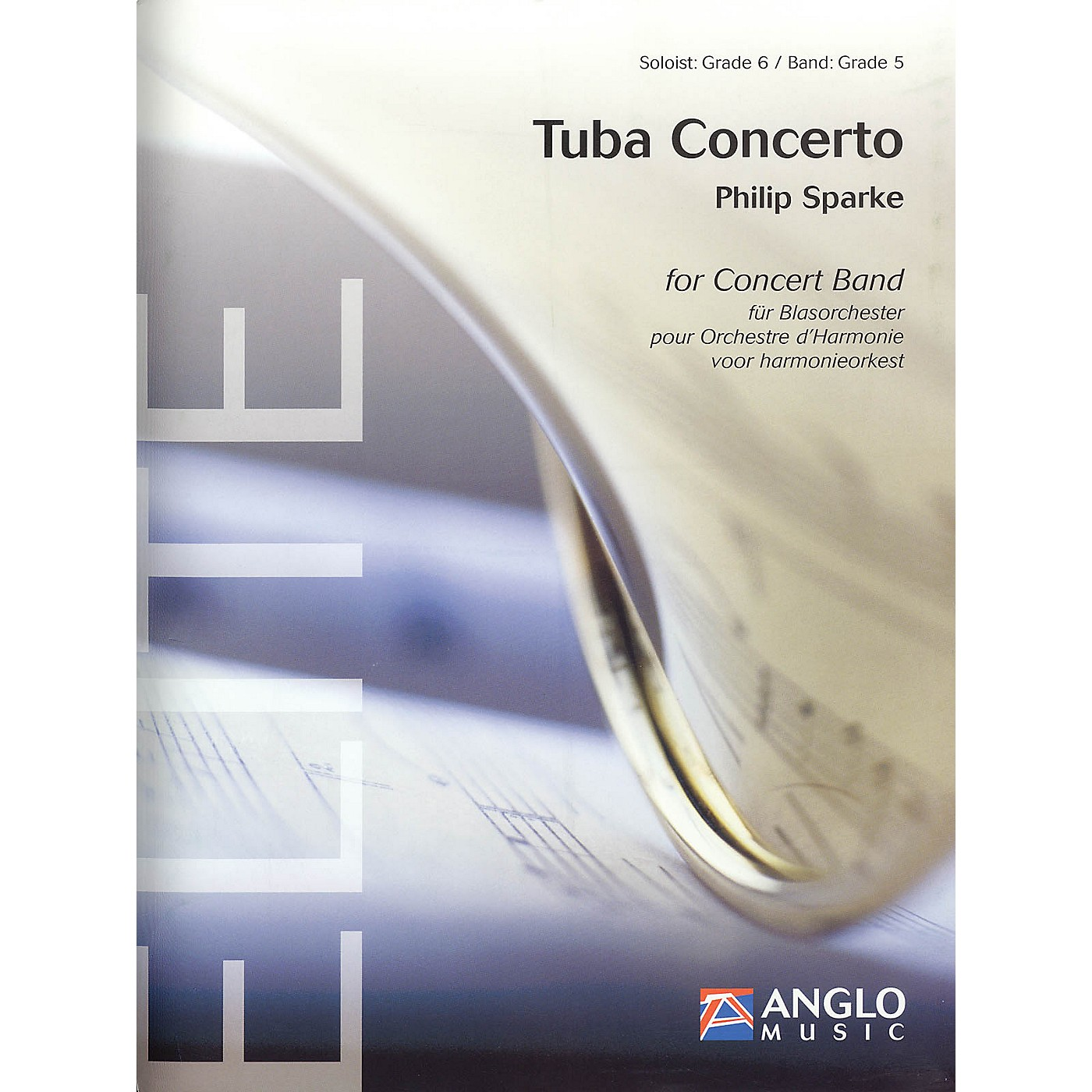 Anglo Music Press Tuba Concerto (Score Only) Concert Band thumbnail