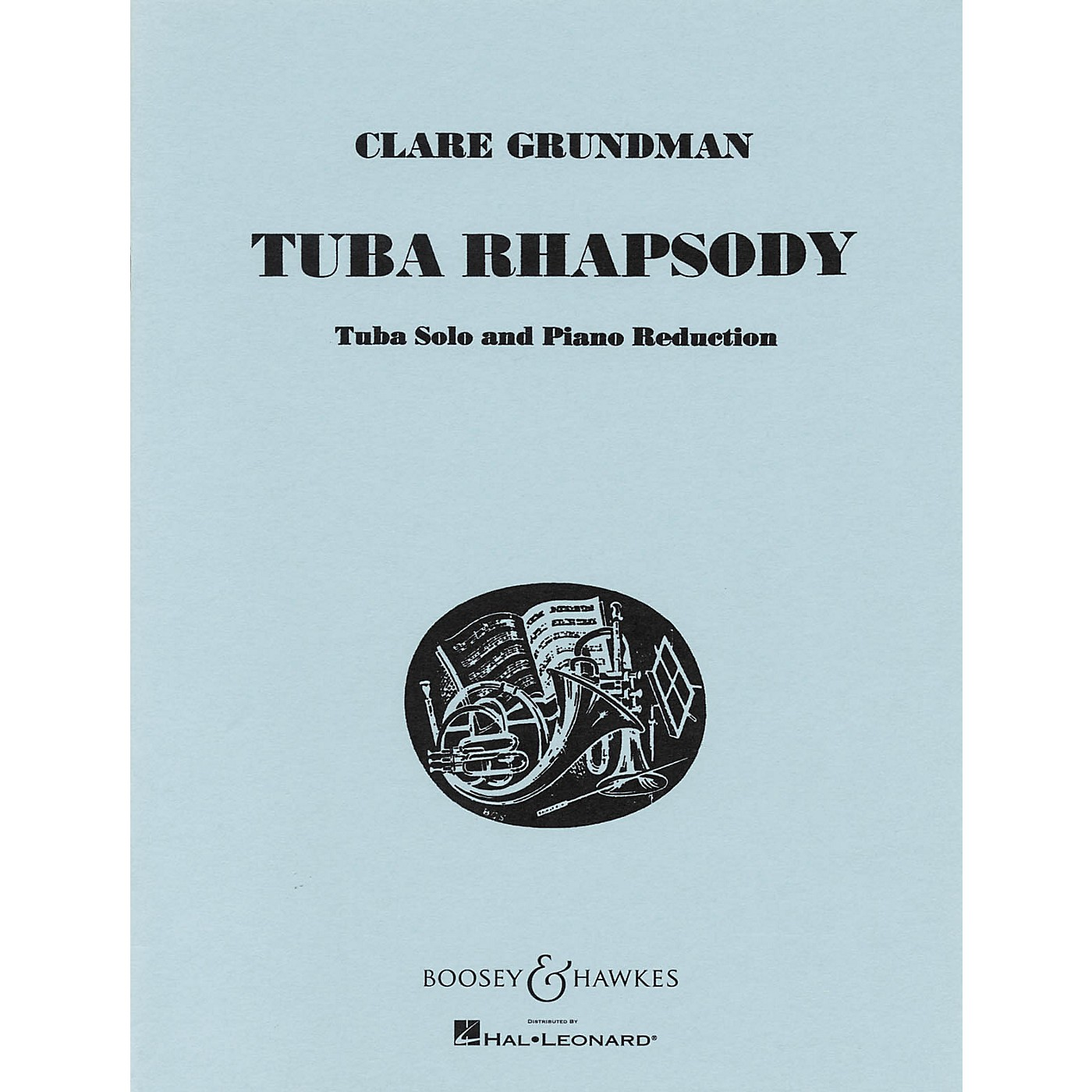Boosey and Hawkes Tuba Rhapsody (for Tuba and Piano Reduction) Boosey & Hawkes Chamber Music Series by Clare Grundman thumbnail