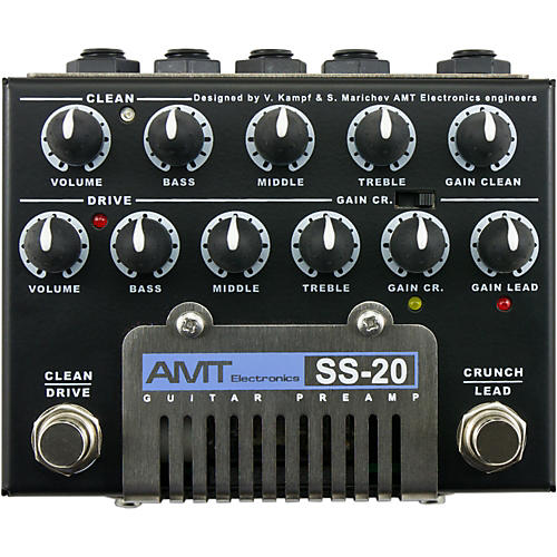 AMT Electronics Tube Guitar Series SS-20 Guitar Preamp thumbnail