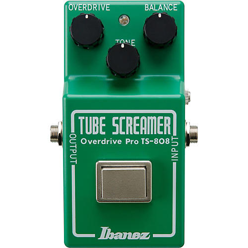 Ibanez Tube Screamer Pro TS808 35th Anniversary Deluxe Overdrive Guitar Effects Pedal thumbnail