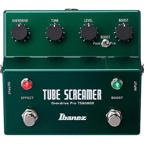 Ibanez Tube Screamer TS808DX Guitar Effects Pedal thumbnail