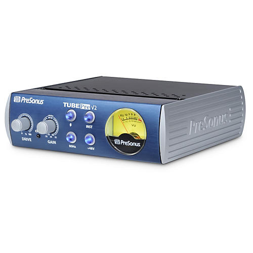 PreSonus TubePre V2 Single-Channel Tube Preamplifier/DI Box thumbnail