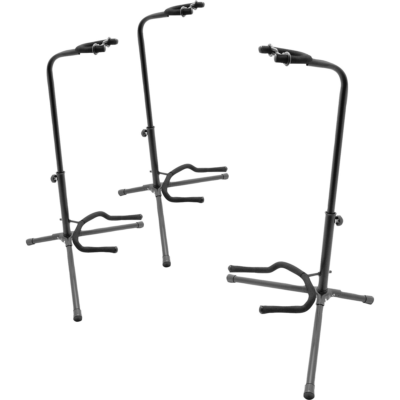 On-Stage Tubular Guitar Stand 3-Pack thumbnail