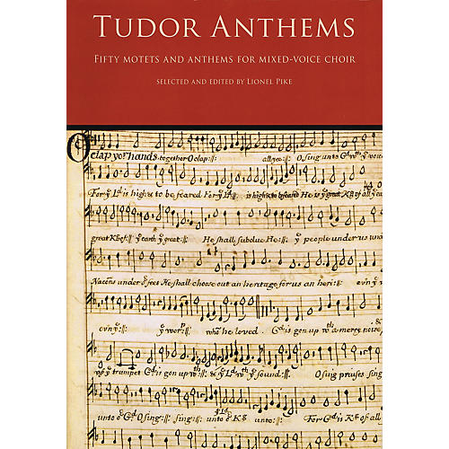 Novello Tudor Anthems (50 Motets and Anthems for Mixed Voice Choir) SATB Composed by Various thumbnail