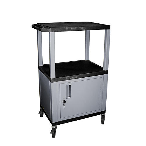 H. Wilson Tuffy Cart with Lockable Cabinet thumbnail