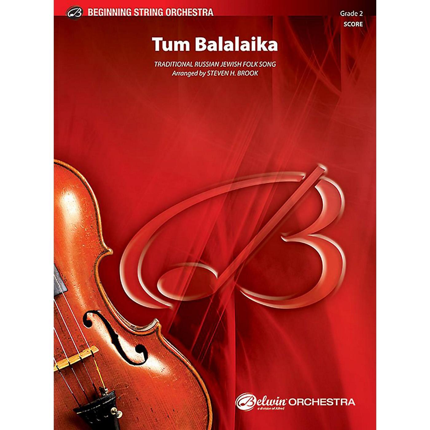 Alfred Tum Balalaika String Orchestra Grade 2 Set thumbnail