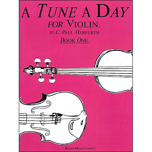 Music Sales Tune A Day Violin Book 1 By Herfurth thumbnail