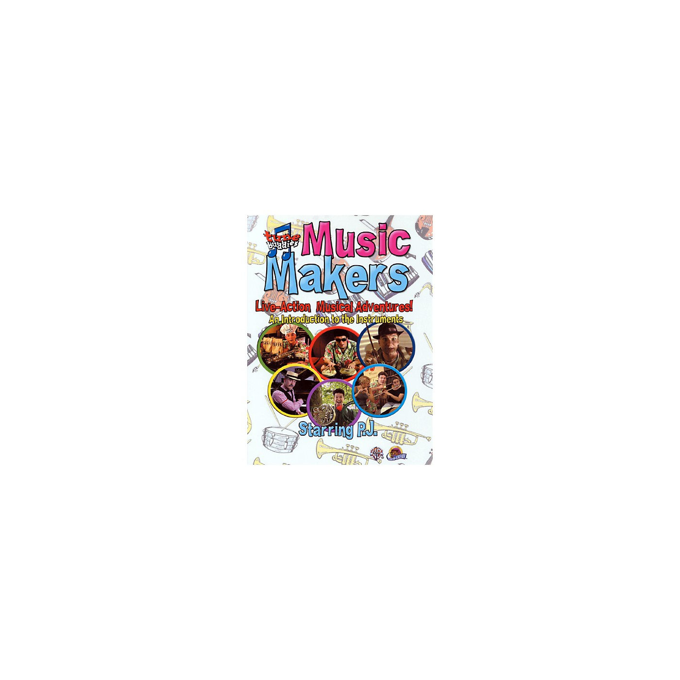 Alfred Tune Buddies Music Makers An Introduction to the Instruments DVD thumbnail