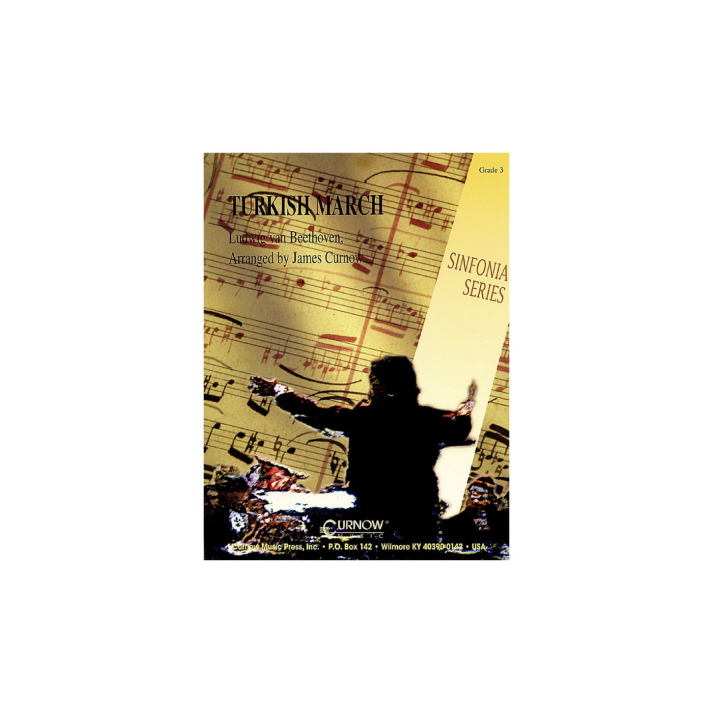 Curnow Music Turkish March (Grade 3 - Score and Parts) Concert Band Level 3 Arranged by James Curnow thumbnail