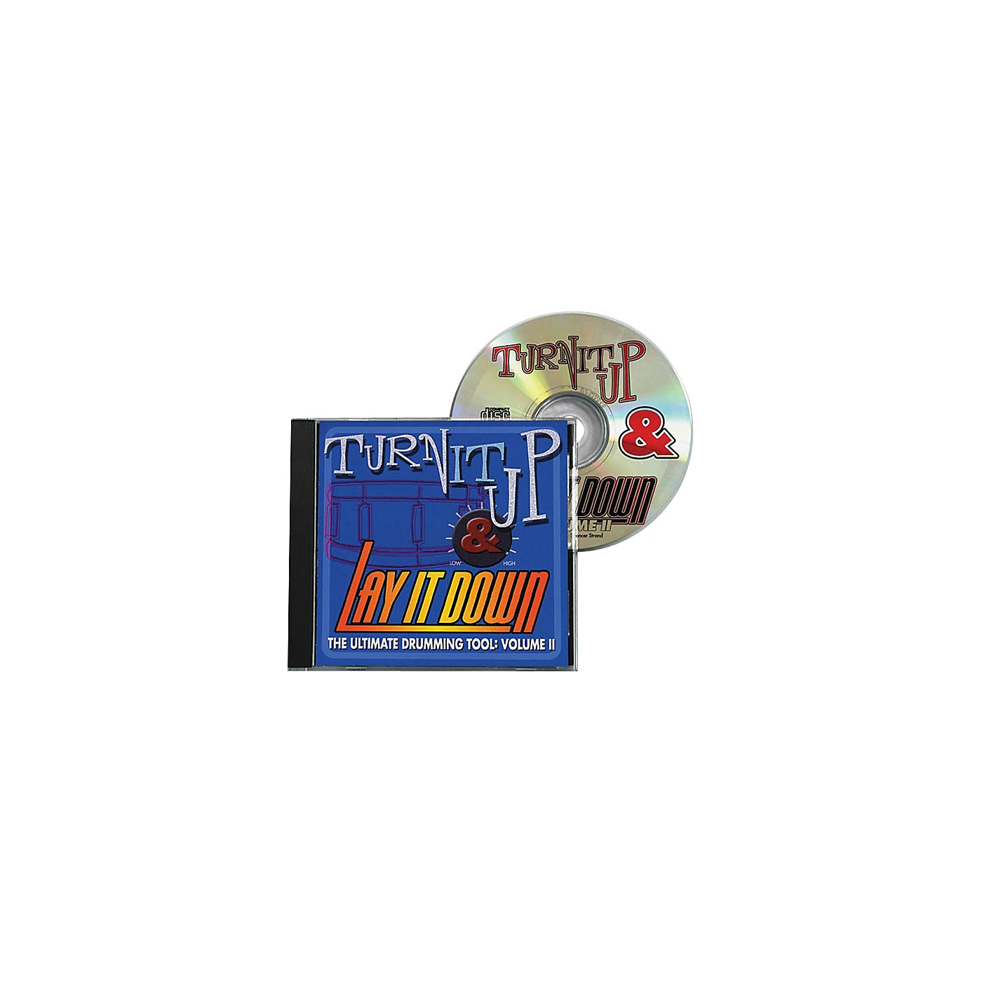Drum Fun Inc Turn It Up and Lay It Down, Volume 2 - Play Along CD for Drummers thumbnail