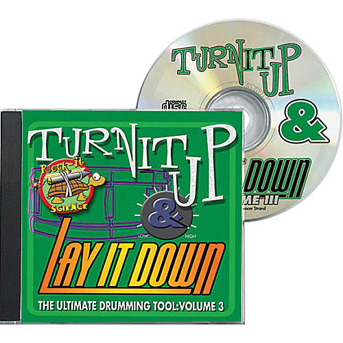 Drum Fun Inc Turn It Up and Lay It Down, Volume 3 - Rock-It Science - Play Along CD for Drummers thumbnail
